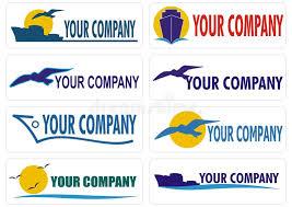 travel companies images Transport cargo travel companies logo stock vector illustration jpg