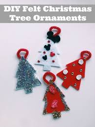 felt christmas ornaments easy diy felt christmas ornaments family focus