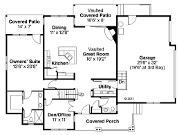 The G443 14 X 20 X 10 Garage Plan Free House Plan by Country Style House Plan 3 Beds 2 50 Baths 1948 Sq Ft Plan 124 882