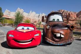 radiator racers at cars land carsland disneyland