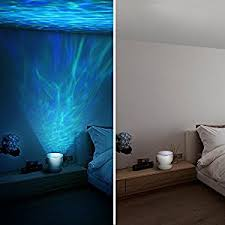 veilleuse pour chambre a coucher homasy projecteur veilleuse de vagues océan lumière led de nuit et