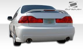 honda accord bumper cover free shipping on duraflex 98 02 honda accord 4dr b 2 rear bumper