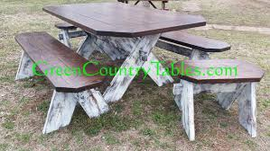 picnic table dining room green country tables farm tables picnic tables dining room