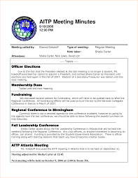 Conference Invitation Card Sample 4 Minutes Of Meeting Sample Outline Templates