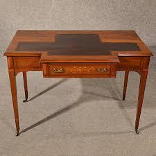 antique desk study library table leather top fine antiques atlas