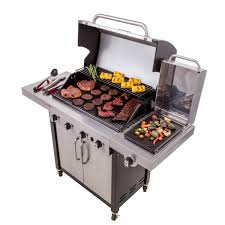 Backyard Classic Professional Hybrid Grill Commercial Series 4 Burner Gas Grill Char Broil