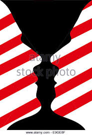 Face Vase Optical Illusion Optical Illusion Vase Stock Photos U0026 Optical Illusion Vase Stock