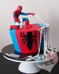 spiderman cake with edible webbing melbourne australia cake