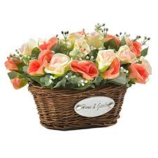 silk roses artificial silk wedding flowers floral arrangements