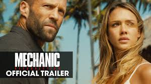 mechanic resurrection starring jason statham jessica alba