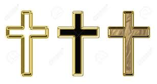 crosses illustration on a religious theme stock photo picture