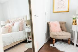 Pink Gold Bedroom My Chicago Bedroom Parisian Chic Blush Pink U2014 Bows U0026 Sequins