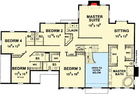 Colonial Open Floor Plans Regal Colonial House Plan 42298db Architectural Designs