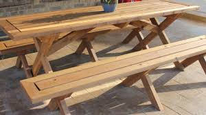 Picnic Table Plans Free Large by Table Beautiful Wooden Picnic Table 82 For Home Decorating Ideas