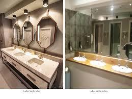 restaurant bathroom design market restaurant before after bathroom series restless design