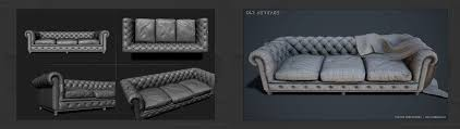 Leather Furniture Texture Quixel Scan Based Pbr Texturing In Photoshop