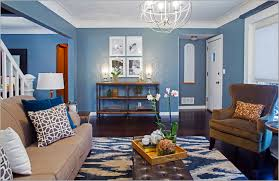 Interior Home Color Schemes Impressive 70 Blue House Interior Decorating Inspiration Of