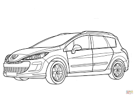 Peugeot 308 Sw Coloring Page Free Printable Coloring Pages Sw Coloring Page