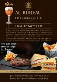 carte au bureau au bureau montpellier 1 place de restaurant reviews