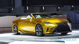 lexus yellow this is the lexus lf c2 and it u0027s kinda stunning slashgear