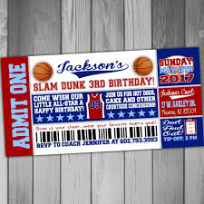 Basketball Themed Baby Shower Decorations Michael Jordan Birthday Invitations Choice Image Invitation