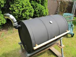 diy build outdoor barrel barbecue grill do it yourself
