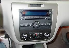 2006 2013 chevrolet impala car audio profile