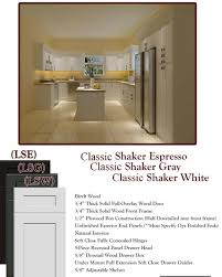 Rta Shaker Kitchen Cabinets New Shaker Door Styles And Finishes In Stock Ready To Assemble