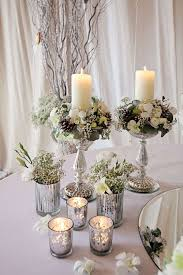 Wedding Reception Table Centerpieces Classy Classic Everyday Table With Table Centerpieces Decor In