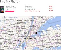 find location of phone number on map lost your windows phone here s how to find it windows central