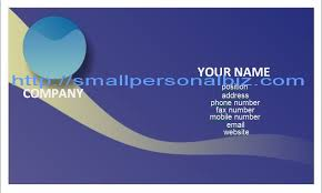 Free Blank Business Card Template For Word 12 Best Photos Of Sample Business Card Template Business Card
