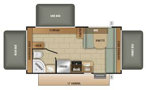 starcraft fifth wheel floor plan outstanding launch outfitter rv