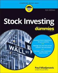 Barnes And Noble 14 Street Stock Investing For Dummies By Paul Mladjenovic Paperback