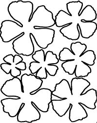 printable large flowers giant flowers large flower petal template printable vestonosets info