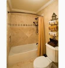 Small Shower Curtain Rod Curved Shower Curtain Rods Bring Luxury To Small Bathrooms With