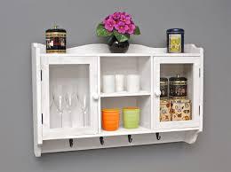 wandregal küche wandregal für die küche garderobe aus holz in braun und weiß