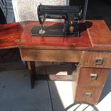 Antique Singer Sewing Machine And Cabinet Best Vintage Singer 301 Sewing Machine In Cabinet For Sale In