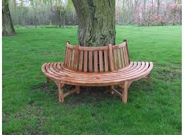 Circular Bench Around Tree Half Round Tree Seat Round Designs