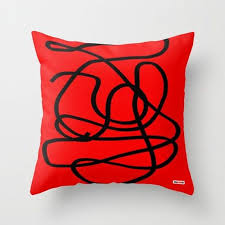 Red and black Decorative Pillow – TheGretest