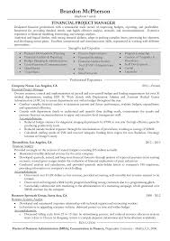 Resume Sample Program Manager by Project Manager Resume Samples And Writing Guide 10 Examples