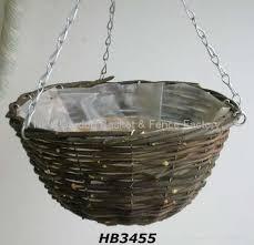hanging planter basket rattan hanging basket hanging flower basket hanging planter basket