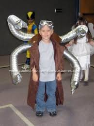 Trench Coat Halloween Costume Youngest Guy Wanted Spiderman Brother Asked