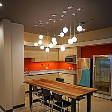Dining Lights Above Dining Table Dazzle I Led Pendant Light From Bruck Lighting Ylighting