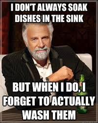Dishes Meme - dishes in sink meme sinks ideas