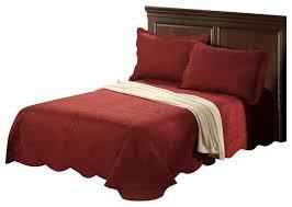 Burgundy Duvet Sets Tache Solid Burgundy Maroon Marsala Autumn Bedspread Set