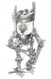 a wolf illustrations blog new sketches robot cross and crown