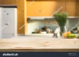 wood table top blur kitchen room stock photo 472943425 shutterstock