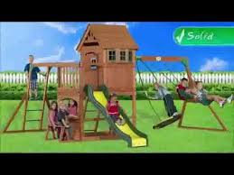 Backyard Discovery Monticello Montpelier Swing Set Backyard Discovery Youtube