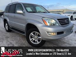 lexus suv lx 470 used used silver 2006 lexus gx 470 suv review edson alberta youtube