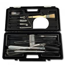 mallette cuisine mallette cuisine professionnelle 17 pièces couteaux et ustensiles
